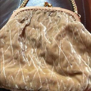 Handbags - Shoulder strap chain velvet bag